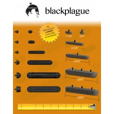 Black Plague PDR Crease Tabs